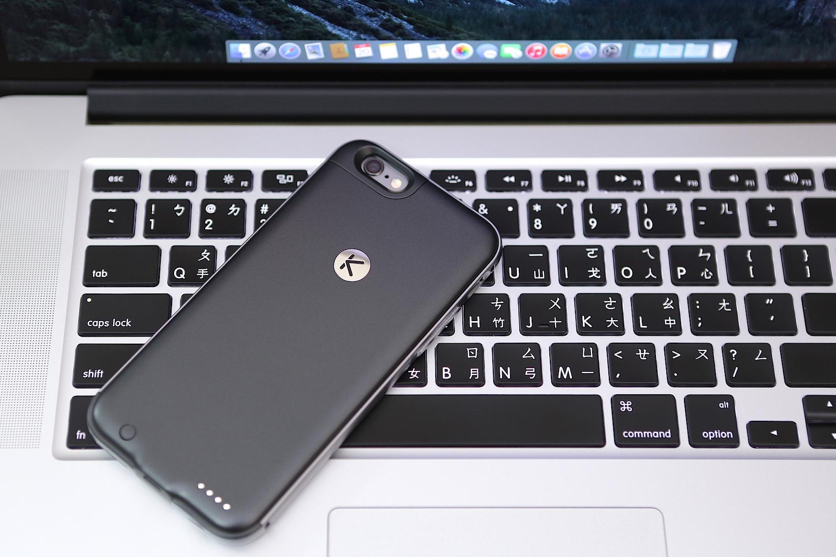 [開箱] 還你Lightning接孔、2400mhA超輕薄iPhone 6電池背蓋 - KUKE!